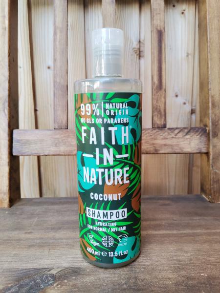 Faith in Nature naravni šampon za lase kokos (400ml)
