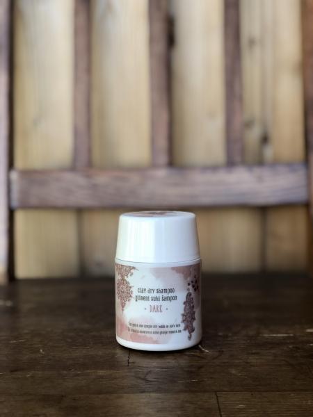 Clay Ritual glineni suhi šampon DARK (50g)