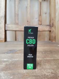 CBD ekološke kapljice premium 5%, 10ml