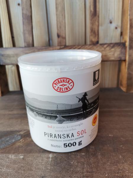 PIRANSKA SOL z zaščiteno označbo porekla (500g)