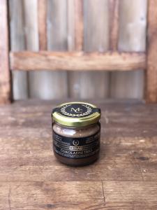 ČOKOLADNI TRIO (cvetlični med, čokolada, lešniki)