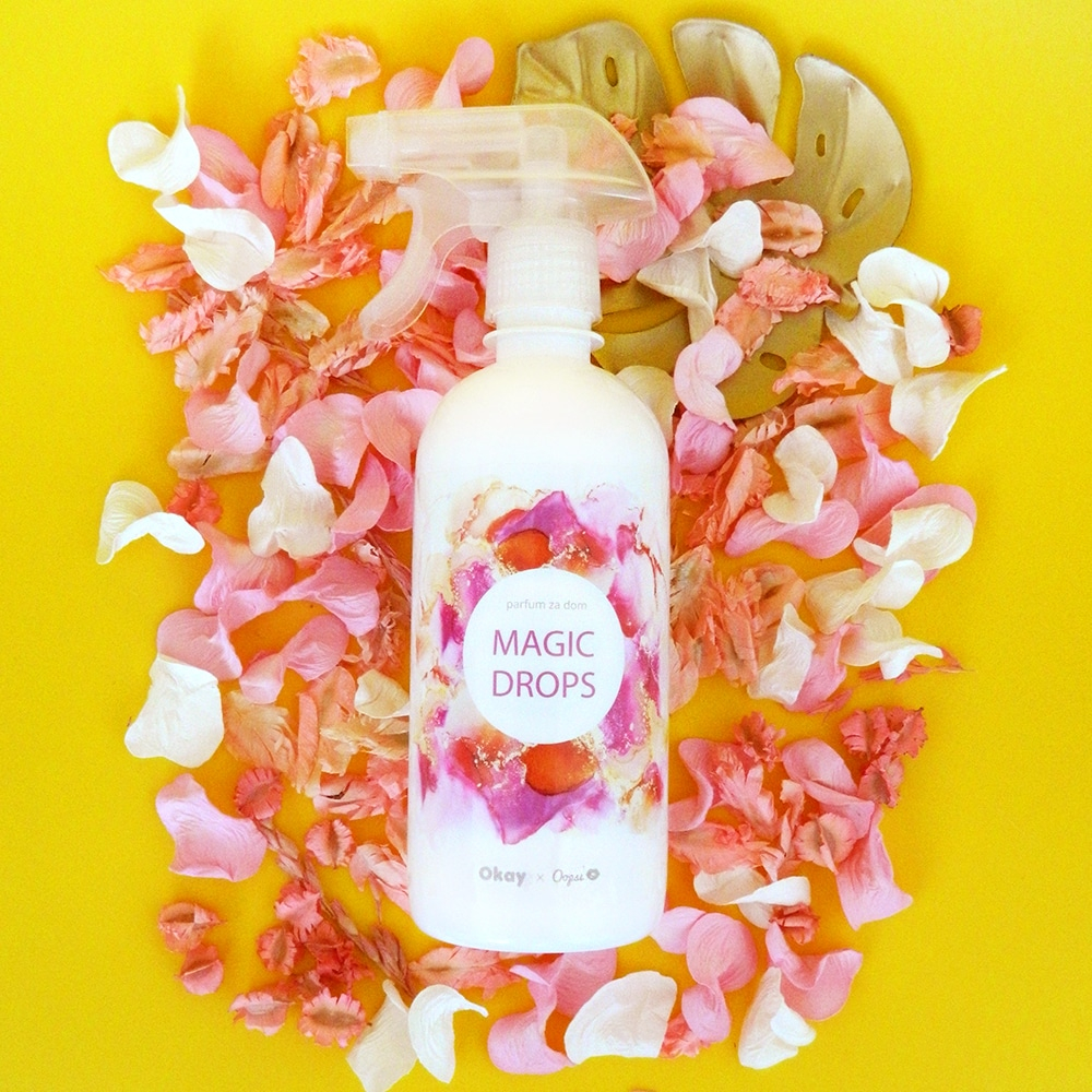 Okay X Oopsi parfum za dom Magic Drops (500ml)